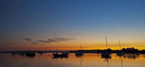Sailors Sunset by Lorn