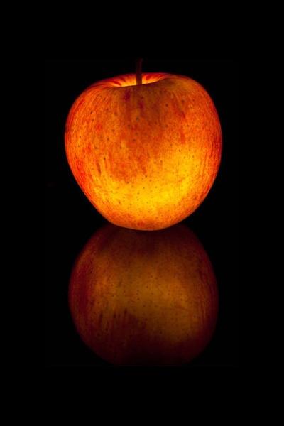 Glowing Apple by carl_walker