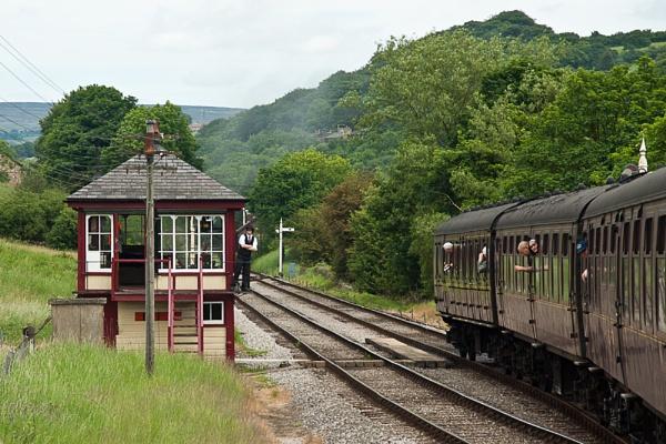 Portrait of a Railway by Alan_Baseley
