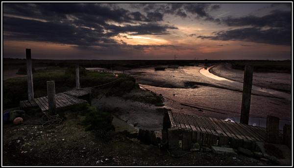Morston Quay Sundown.