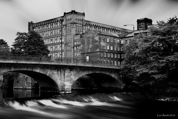 The Bridge and Mill in Belper by lesarnott