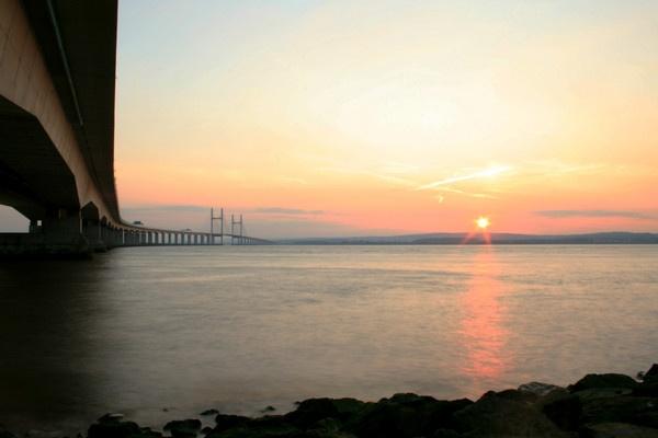 Sunset Bridge by moe_101