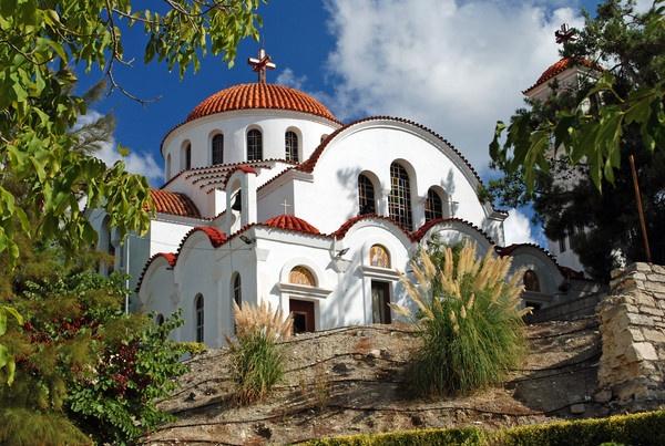 Greek church by Graham-Mead