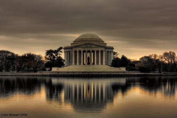 Thomas Jefferson Memorial by 1Wizzard1