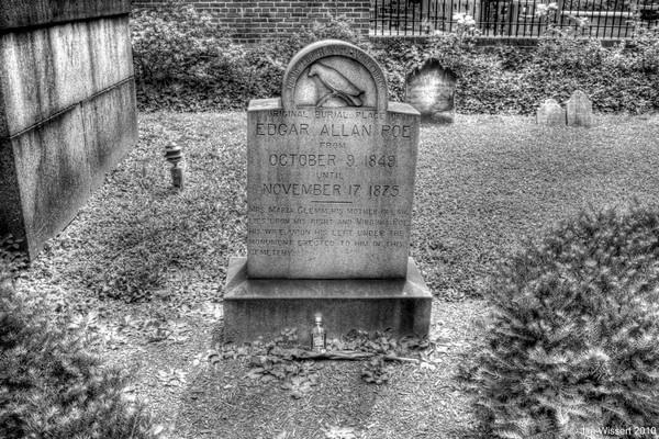 Edgar Allan Poe-Original Grave by 1Wizzard1