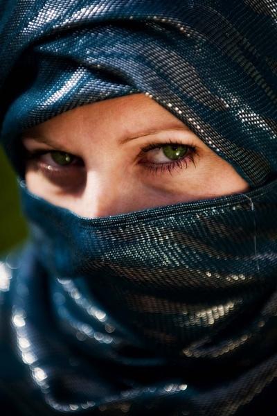 Green Eyes by chrishalton