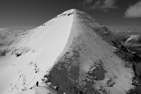 Man Vs Mountain by JohnParminter