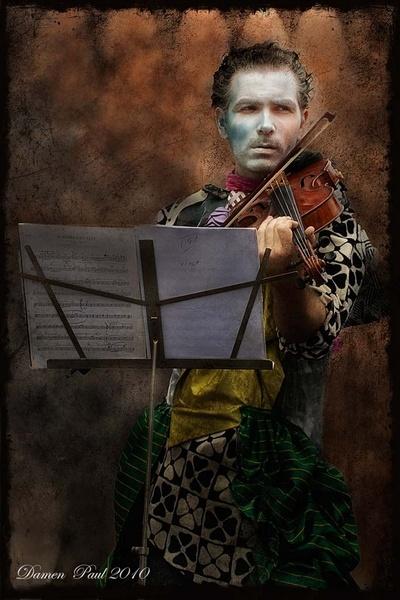 Music man by Barrierfoto