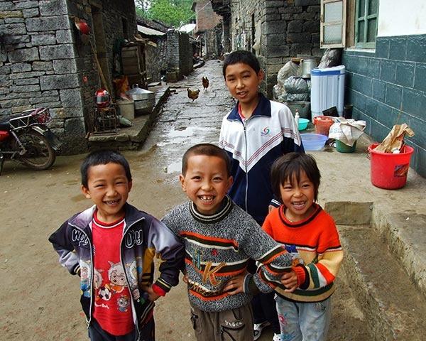 Stone Village Children by featuredteacher