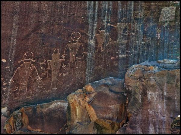 Fremont petroglyphs 1 by maggieh