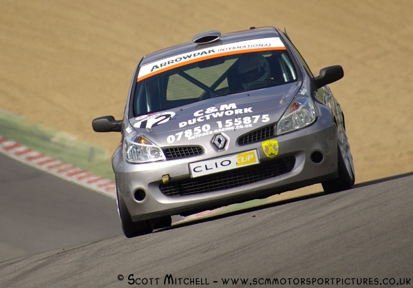 Renault Clio ( LMA Euro Saloons Brands Hatch ) by motorsportpictures
