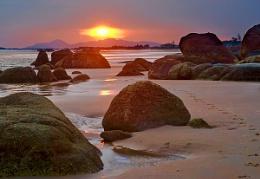 Sunset in KeGa Phan Thiet