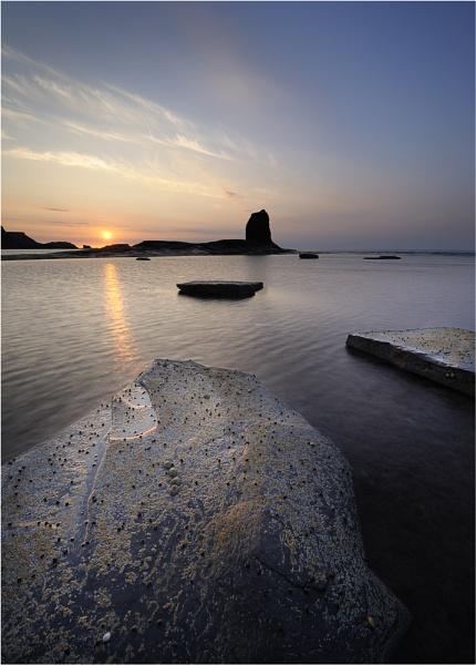 Saltwick, Sunset 2 by iansnowdon