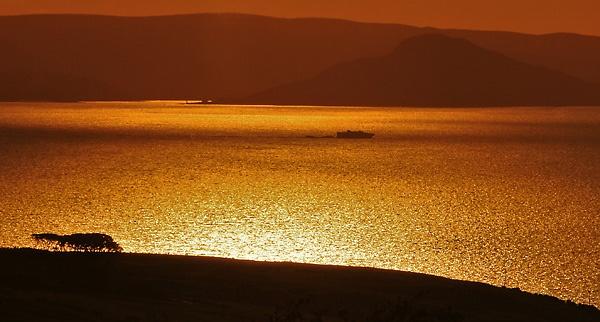 Arran Sunset by Gmurr