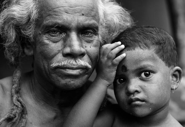 Santhal Tribe by humansaibal