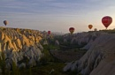 Balooning up and down the valleys of Cappadocia