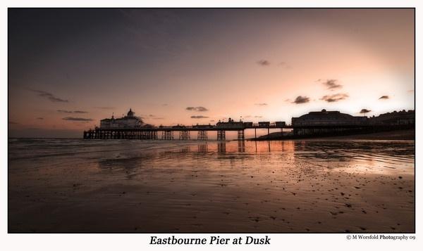 Eastbourne Pier at Dusk by HairyMark
