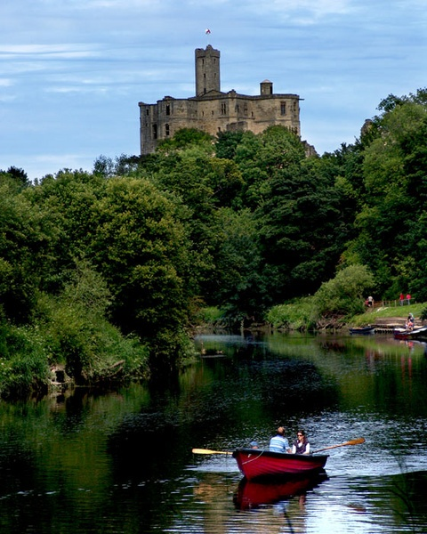 Warkworth Castle by eddieali1961
