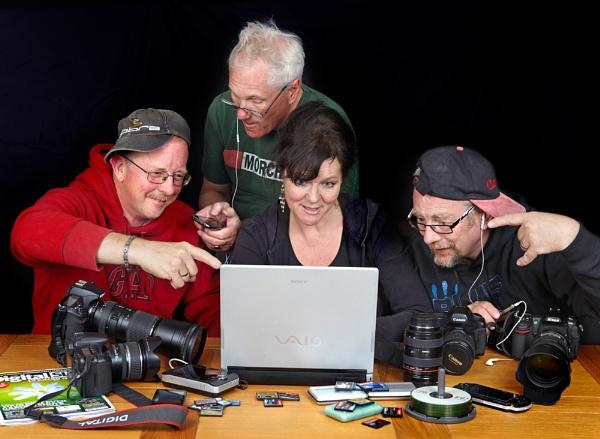 Camera Club Posse by stix