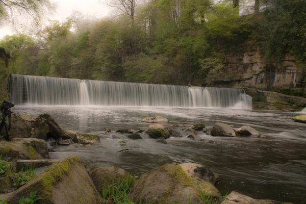 Cramond Falls by 66dougie