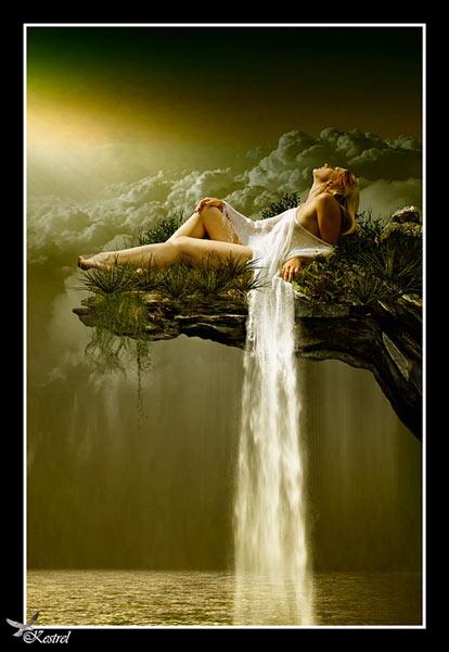 Waterfall by Kestrel