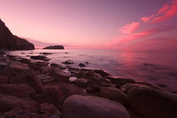 Saltwick Sunset by Warriorpoet