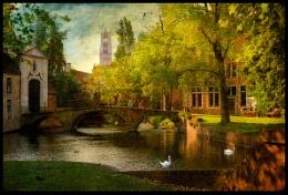 Begijnhofbridge-Bruges-Belgium