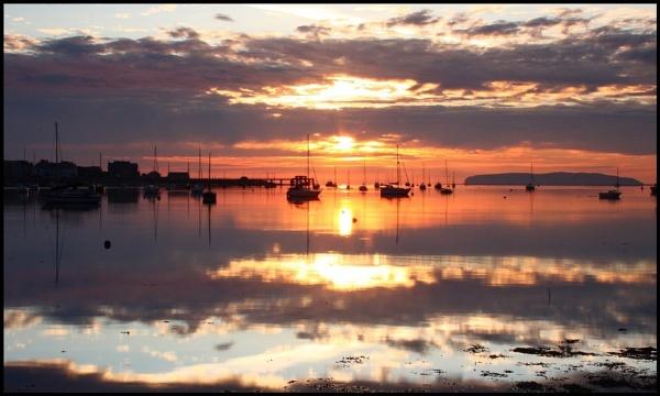 Golden Sunrise by In-Focus-Imaging