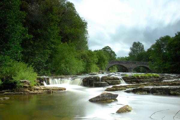 Bridge over thr river Greta at Burton by eviemay