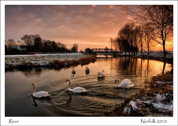 River by KathyW