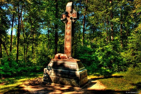 Irish Brigade Monument-Gettysburg by 1Wizzard1