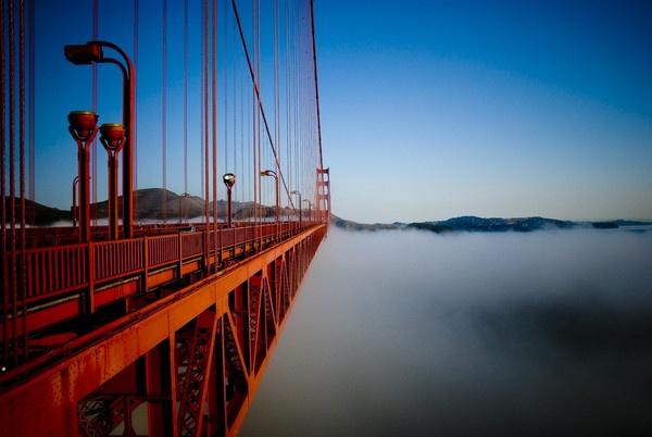 Golden Gate morning by tom_231268