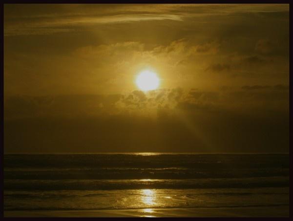 Widemouth Sunset by scottf75