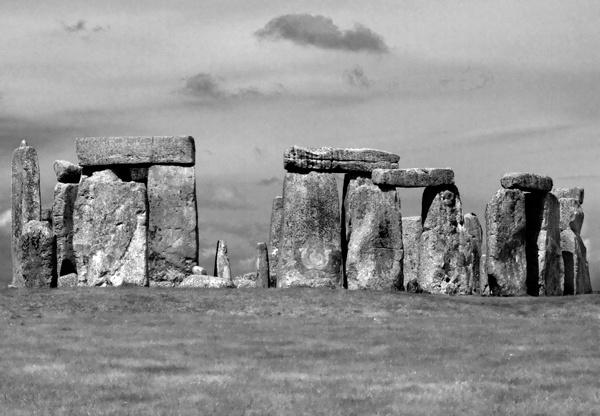 Infrared - Stonehenge by Artois