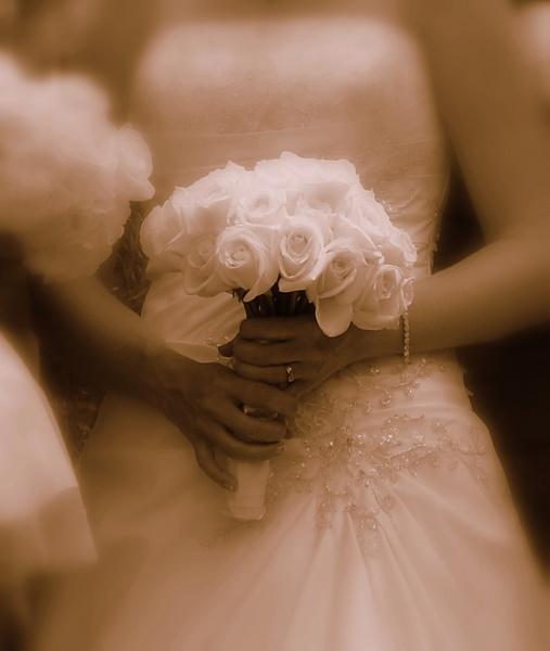 Rebecca\'s Wedding Flowers & Ring by warbstowcross
