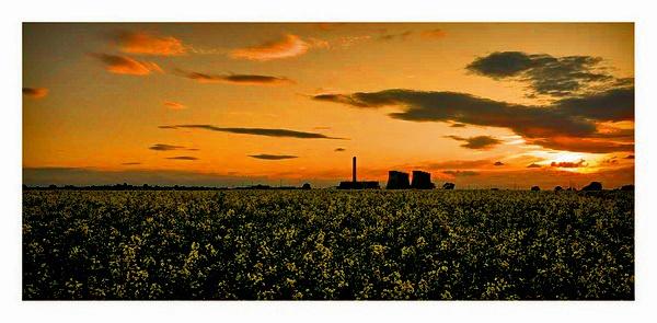 Eggborough Sunset by SoulOfNature