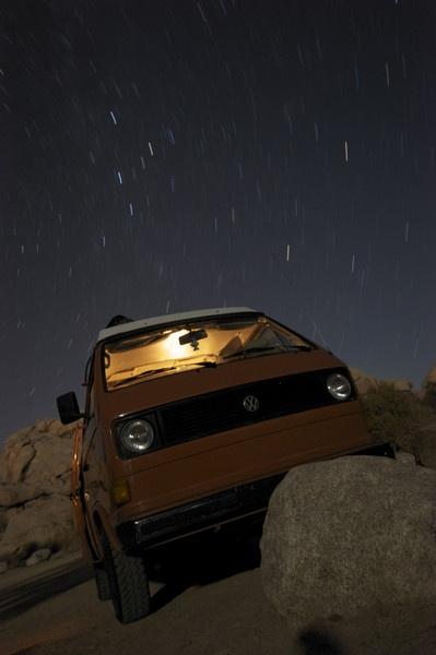 intergalactic Volkswagen camper by woolie