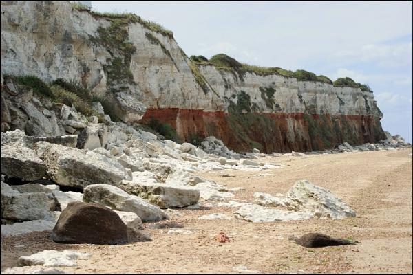 Old Hunstanton\'s cliff. by Adam_H