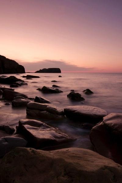 Saltwick Sunset III by Warriorpoet