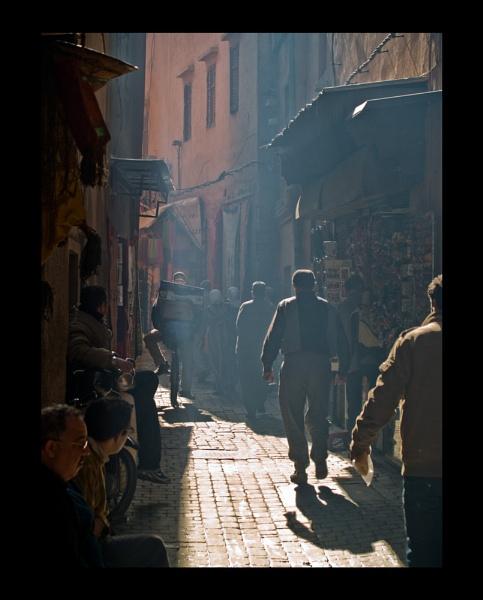 Moroccan Alleyway by JdeNLucas