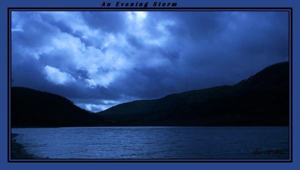 Evening Storm by Ladynina