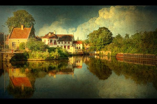 Bruges - Dampoort . by Cor