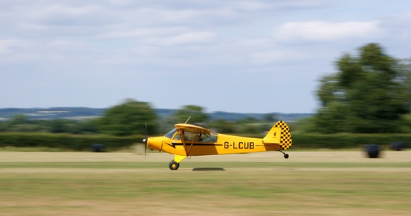 Piper Super Cub Light Aircraft by andy-coleman