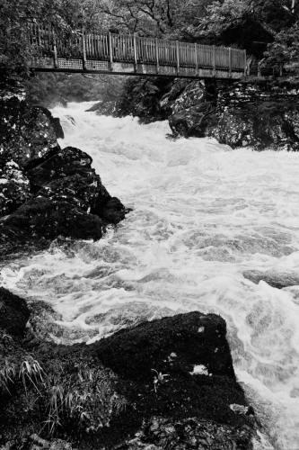 welsh river by johnflindt