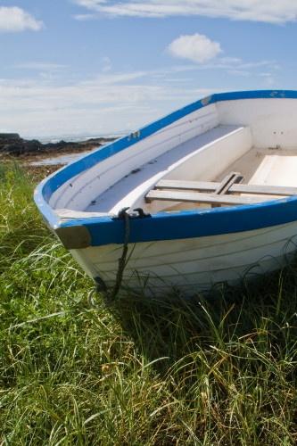 Boat at Rhosneiger by johnflindt
