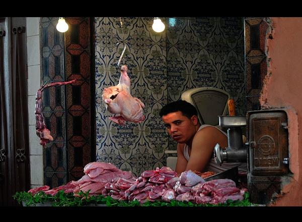 The Butcher.. by woodlark