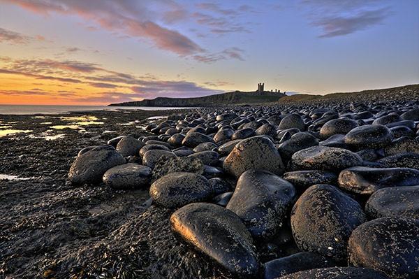 Dunstanburgh Dawn by davey