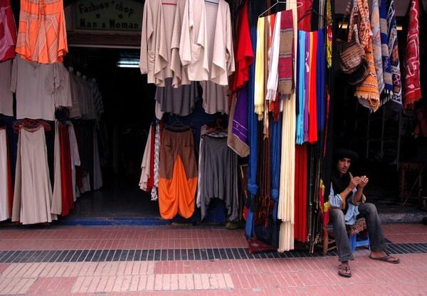 Man in Essaouira by kilo watt
