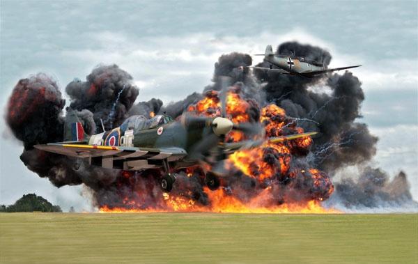 BBMF RAF Waddington 2010 by dynexclick