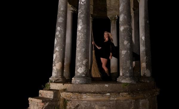 wickedy witch in a folly by Diana